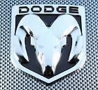 DODGE BLACK CHROME 3D EMBLEM BADGE FOR BODY TRUNK TAILGATE FENDERS
