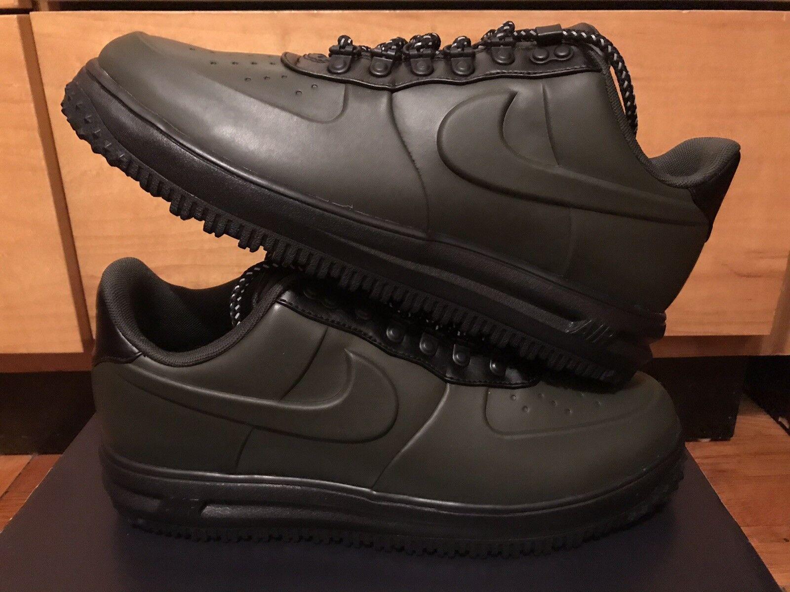 e1479b300c92cc 140 Nike Duckboot Mens Size 11.5 Boots Black Sequoia Green AA1125 300 Rare