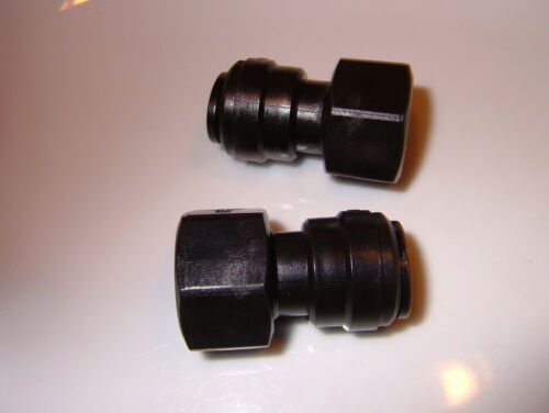 ½ BSP female to 12mm push fit (2 pack) Water Pump - Filter connector.