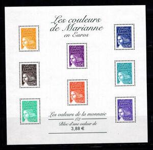 France-2002-Yv-BF-44-Bloc-Feuillet-100-Neuf-Femmes