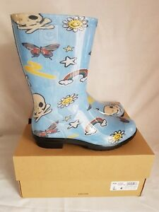 b54570c3de0 Details about Raana Patches Kids Rain Boot Waterproof Size UK 3 Ugg