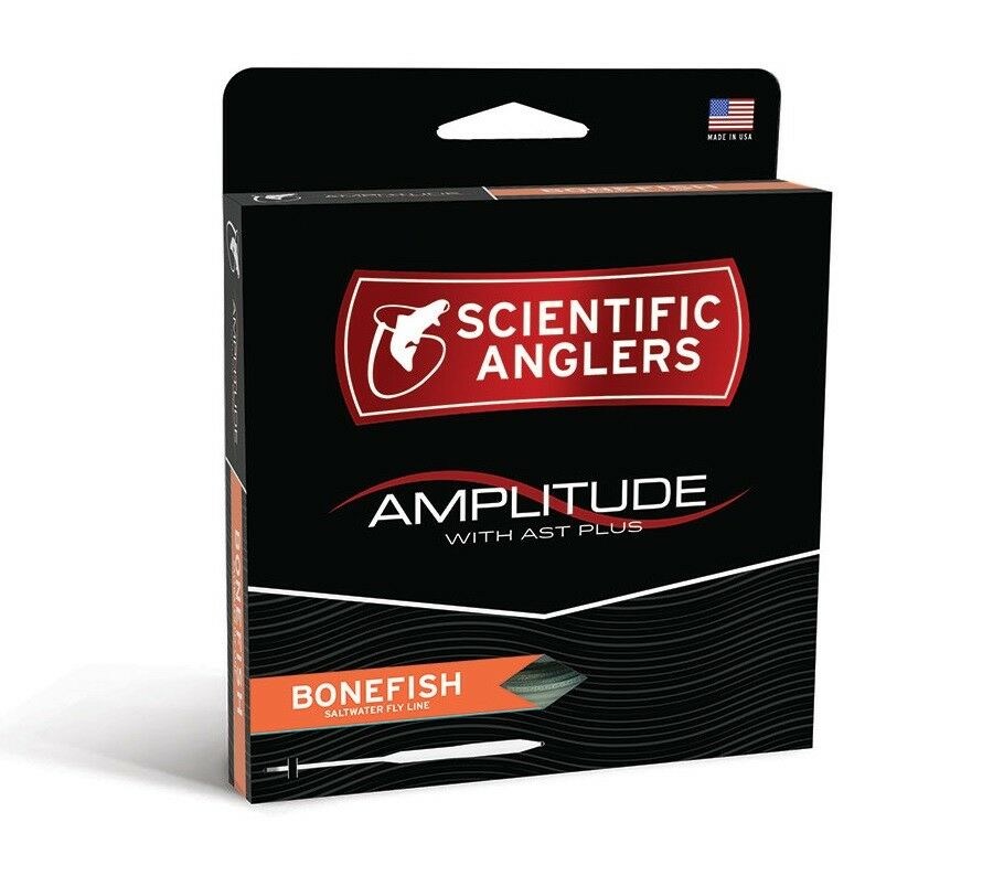 Scientific Anglers Amplitude Bonefish Fly Line - WF9F - New