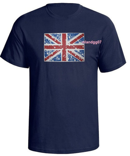 United Kingdom British Flag T-Shirt UK  England  Shirt SIZES S-5XL