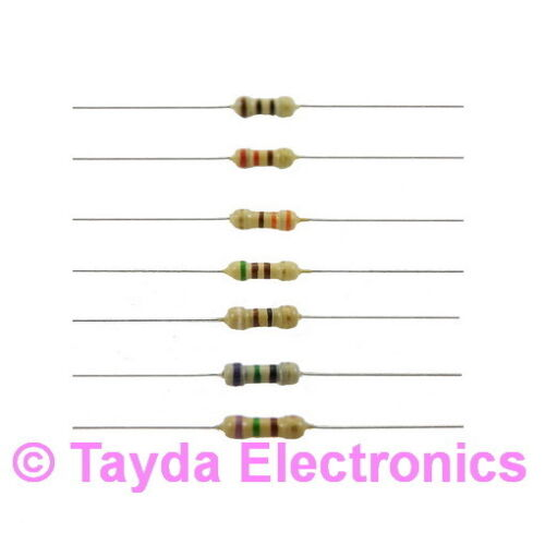 50 x 18K Ohms OHM 1//4W 5/% Carbon Film Resistor FREE SHIPPING