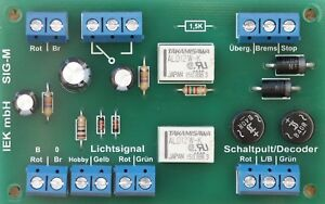 Sig-M-signal-Module-bremsmodul-compatible-avec-MARKLIN-Digital-IEK