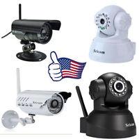 Sricam Hd 1080p Pan Tilt Wifi Wireless Cctv Security Network Ir/ip Camera Webcam