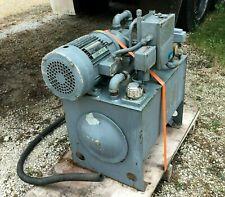 3hp Continental 6gpm Hydraulic Power Unit Pvr1 6b06 Rf 0 1 F Pump 182t Motor