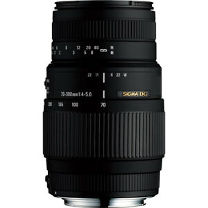 Sigma-Second-Stock-70-300mm-F4-5-6-DG-Macro-Lens-Canon-Fit