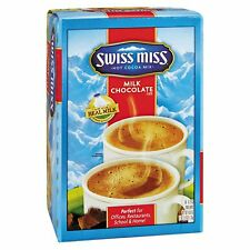 Swiss Miss Hot Cocoa Mix 60 ct Instant Milk Chocolate Single Serving Packets
