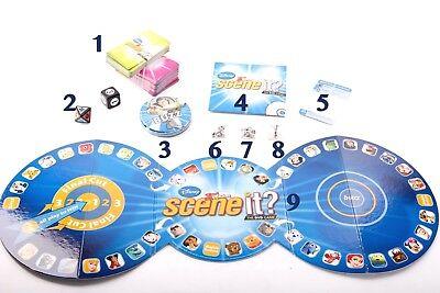 Scene It Movie Board Game Spare Parts
