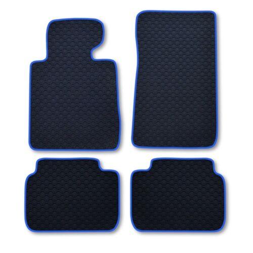 Ruvido tappetini in gomma Octagon nastro blu VW PHAETON BERLINA ab Bj 03//02 Lang vers.