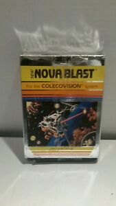NOVA-Blast-COLECOVISION-1983-Imagic-HTF-EXTREMELY-RARE-COMPLETE-Box-Instructions