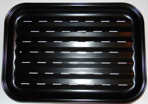 Grillschale schwarz Grillzubehör BBQ Schale Stahl Grillblech antihaftbeschichtet