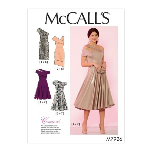 elegant Kleid Abendkleid McCalls Schnittmuster M7926