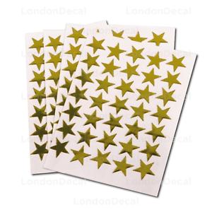 300 GOLD STARS SCHOOL TEACHER OFFICE MERIT REWARD STICKERS SELF ADHESIVE 15mm