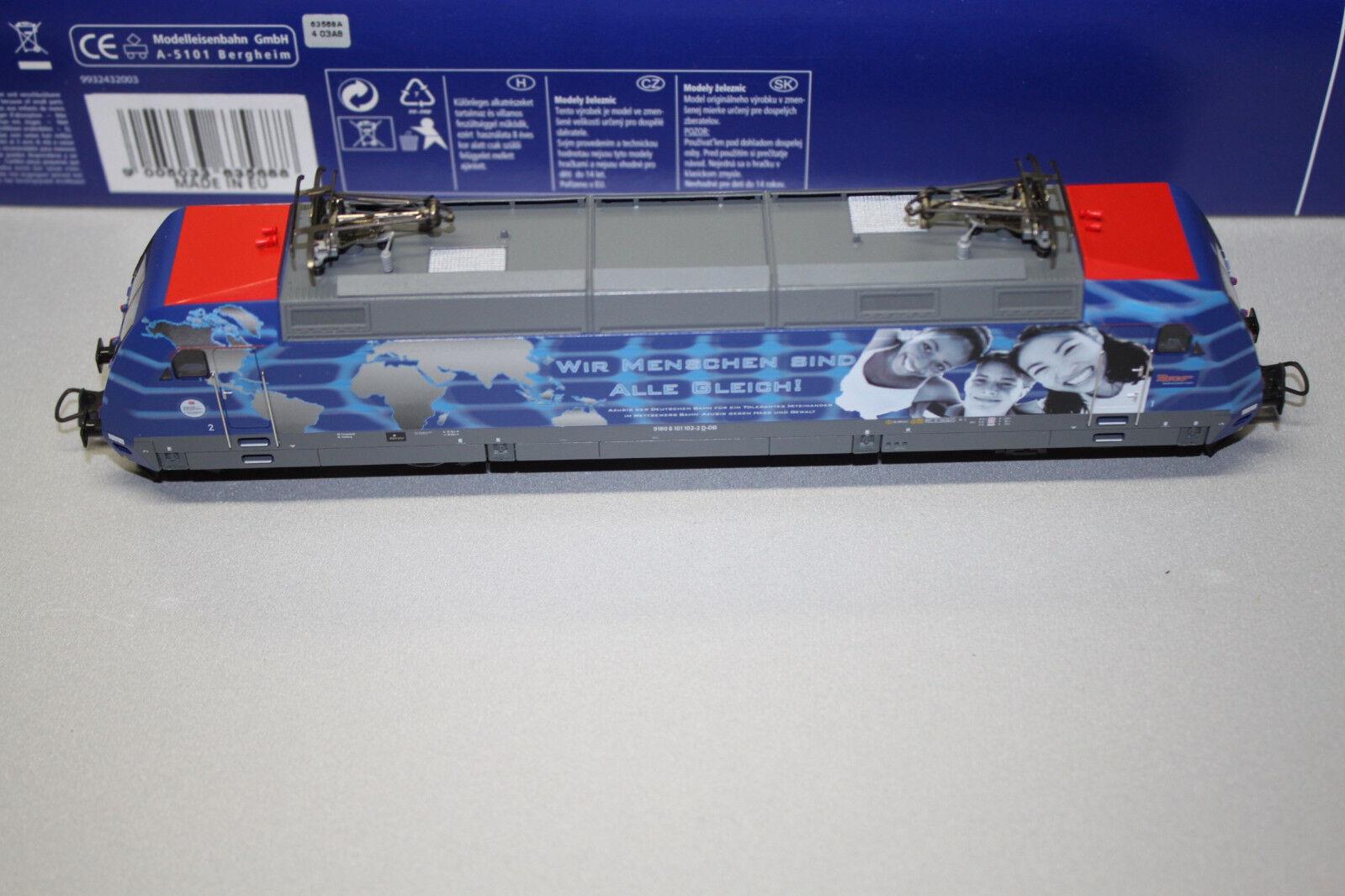 Roco 63568 Elok Baureihe 101 102 -2 DB AG DSS Spur H0 OVP