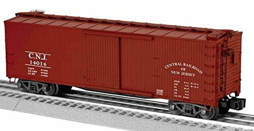 Lionel 6-81838 O CNJ Double-Sheathed Boxcar  14014