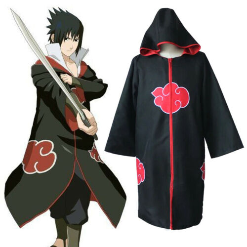 Animer Cosplay Costume Akatsuki itachi Cloak Superior Quality Anime Conventi Js