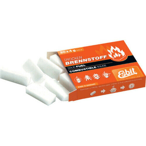 Esbit Solid Fuel Tablets ORMD Contains (20) solid fuel tablets for your Esbit s