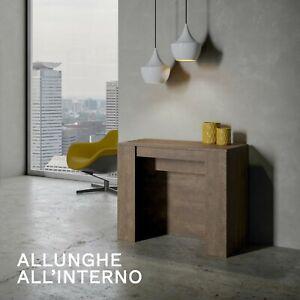 Tavolo Consolle Allungabile Venus Fino A 3 Metri Moderno Salotto Cucina 14 Posti Ebay