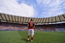 POSTER FRANCESCO TOTTI A.S. AS ROMA 10 ROME SOCCER FOOTBALL CALCIO CAPITANO #51