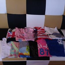 LOT OF 11 BRAND NAME CLOTHES~JUICY COUTURE AEROPOSTALE HOLLISTER ETC~XS-M~CHEAP!
