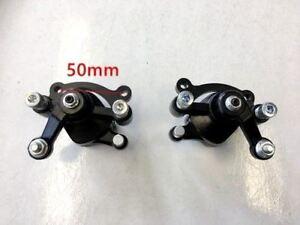 Front-Rear-Left-Right-Disc-Brake-Calipers-Pads-Mini-Pocket-Rocket-Bike-Quad-Atv