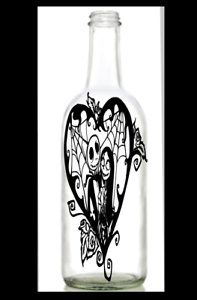 Nightmare Before Christmas Vinyl Decal Walls Crafts Sally For Wine Bottles