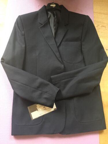 "Girls Zeco Navy Blue Blazer Size 42""chest"