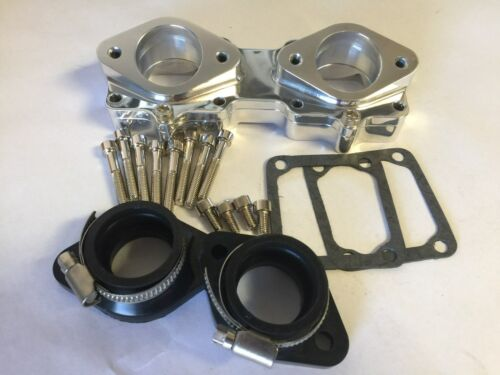 Billet Intake Manifolds Boots 33 34 35 mm Keihin Mikuni Carb Carburetors Banshee