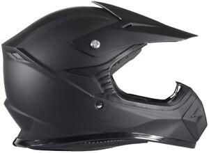 Youth Kids Motocross Helmet DOT Matte Flat Black ATV UTV MX OffRoad