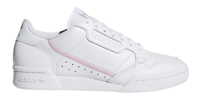 NEW ORIGINALS CONTINENTAL 80 CASUAL femmes chaussures baskets LEATHER LEATHER LEATHER blanc rose 21466f