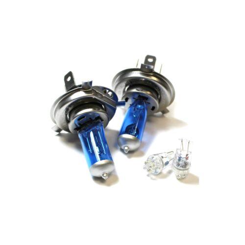 Ford Fiesta MK6 55w ICE Blue Xenon HID High//Low//LED Side Light Headlight Bulbs