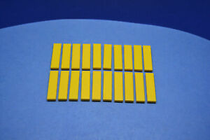 15x LEGO® Fliese//Platte 2x2 mit Technic Pin 2460 NEU Gelb