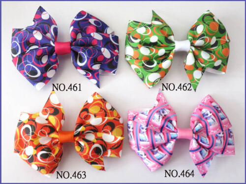 """20 BLESSING Good Girl Custom Boutique 3.5/"""" Wendy Bow Clip 474 No Wholesale"""
