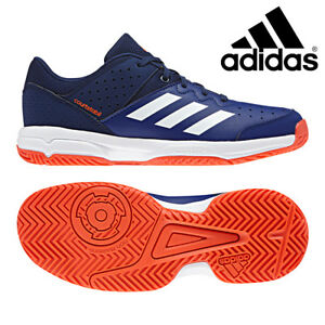 Inquiet Adidas Junior Court Stabil Chaussures De Tennis Kids Indoor Sports Gym Sport Ac7466-afficher Le Titre D'origine Top PastèQues