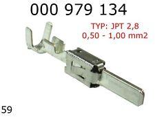 Terminals Male JPT 2.8K Tin Plated Terminal 0.50 - 1.00mm2 10pcs 000979134E