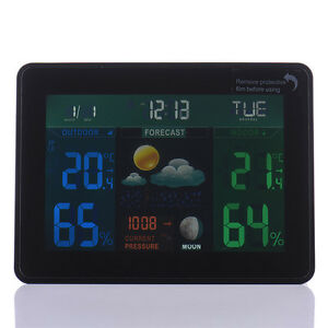 TS-70-DCF-Wireless-Weather-Station-Forecast-Alarm-Indoor-Outdoor-Thermometer