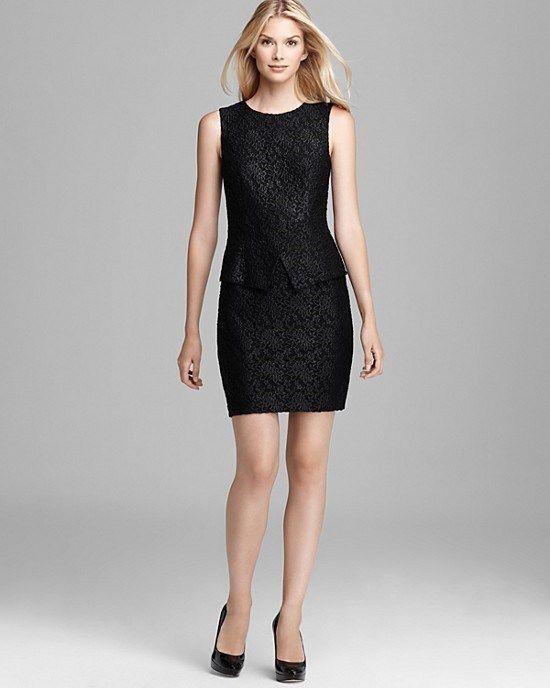 EUC Cynthia Steffe 'Roya' Lace Peplum Sheath Dress, Size 8