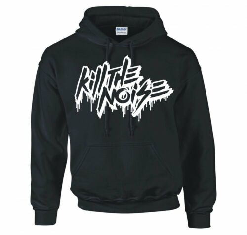 """KILL THE NOISE /""""FONT LOGO/"""" HOODIE NEW"""