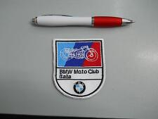 Patch Written Embroidery BMW Motorcycles cm 9 x 6 Fusible
