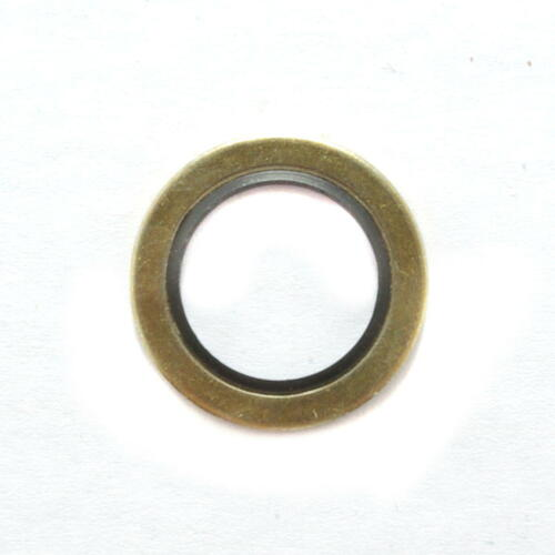 10 U-Ringe Schraubendichtungen 18,7 x 26 x 1,5 mm NBR//Stahl