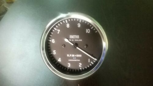 Smiths Tachometer 80 mm fitment M18x1.5 thread Replica 4 :1 (10000 rpm)