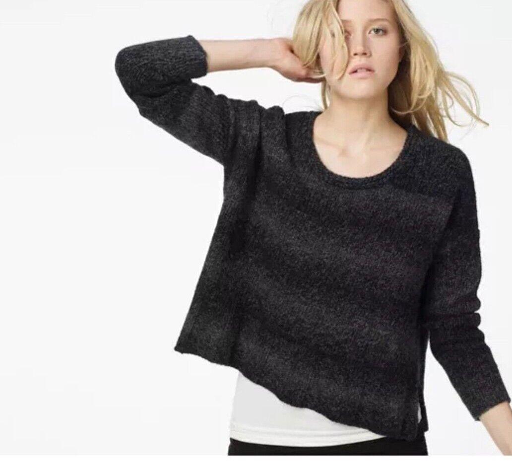 JAMES PERSE Los Angeles NEW Alpaca Knit Boxy Sweater oben Größe 2 Medium MSRP  295