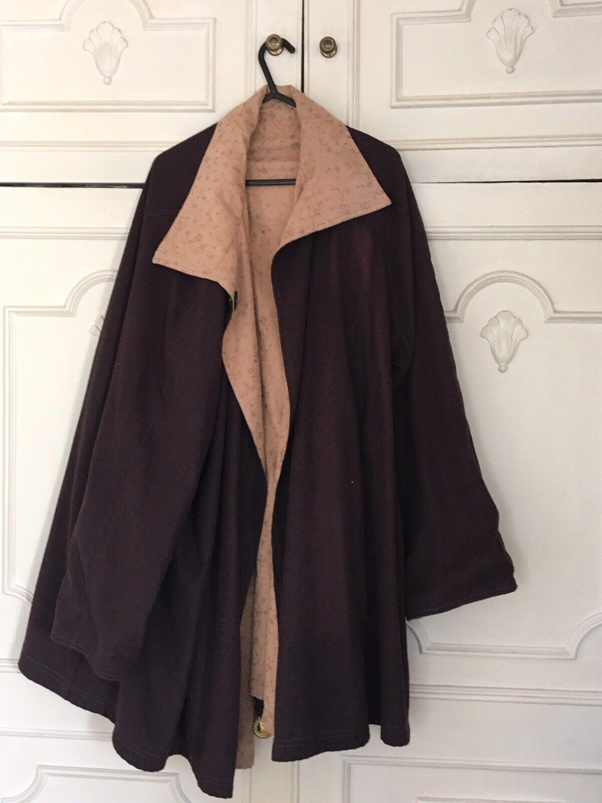 New Zealand suede golden & choclate brown coat & hat