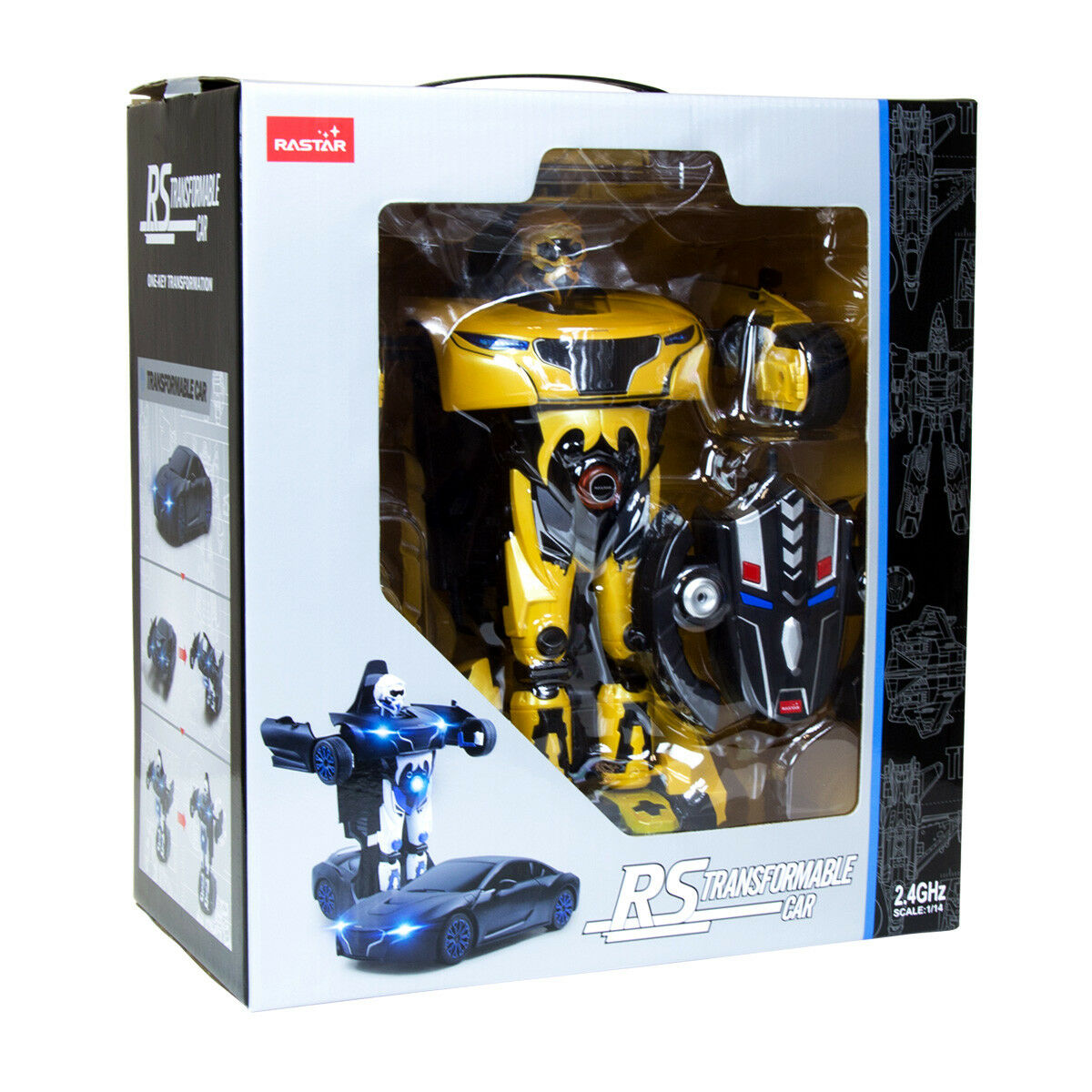NEW RASTAR RC 1 14 RS X Man Transformers USB Remote Controlled Toy Car