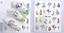 Adesivi-Unghie-Decalcomanie-Nail-Art-WATER-Decals-Stickers-Lavande-Fiori-Farfall miniatuur 15
