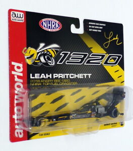 Auto World 1/64 Scale 03435 - Leah Pritchett 2018 NHRA Top Fuel Dragster
