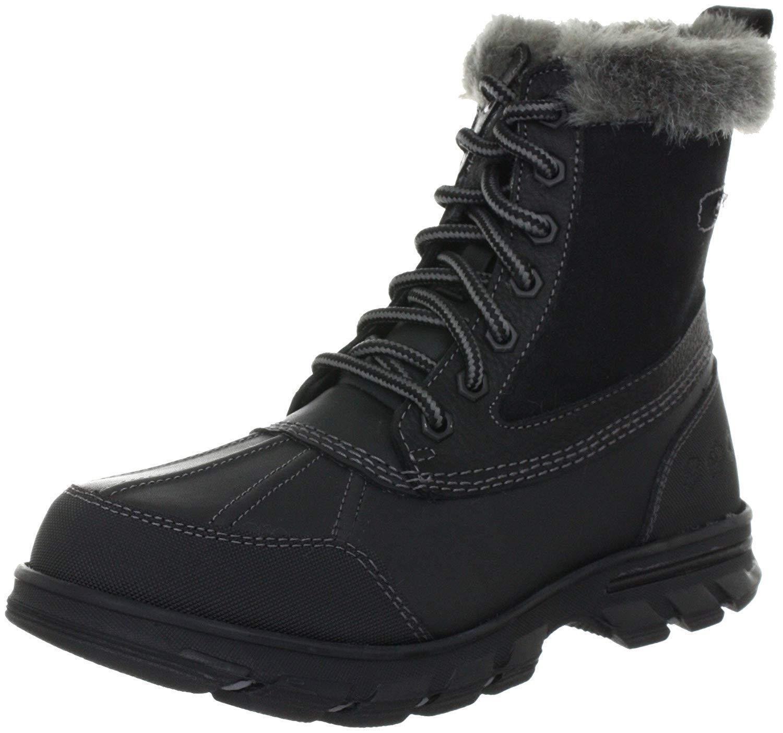 Skechers Women's Trail MX-Heats Snow Boot, Black, Size 5.0