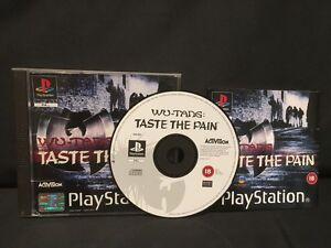 WU-TANG-TASTE-THE-PAIN-PS1-PS2-PS3-PLAYSTATION-1-2-3-ITA-INTROVABILE-GIOCHI